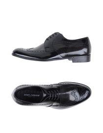 DOLCE & GABBANA - 系带鞋