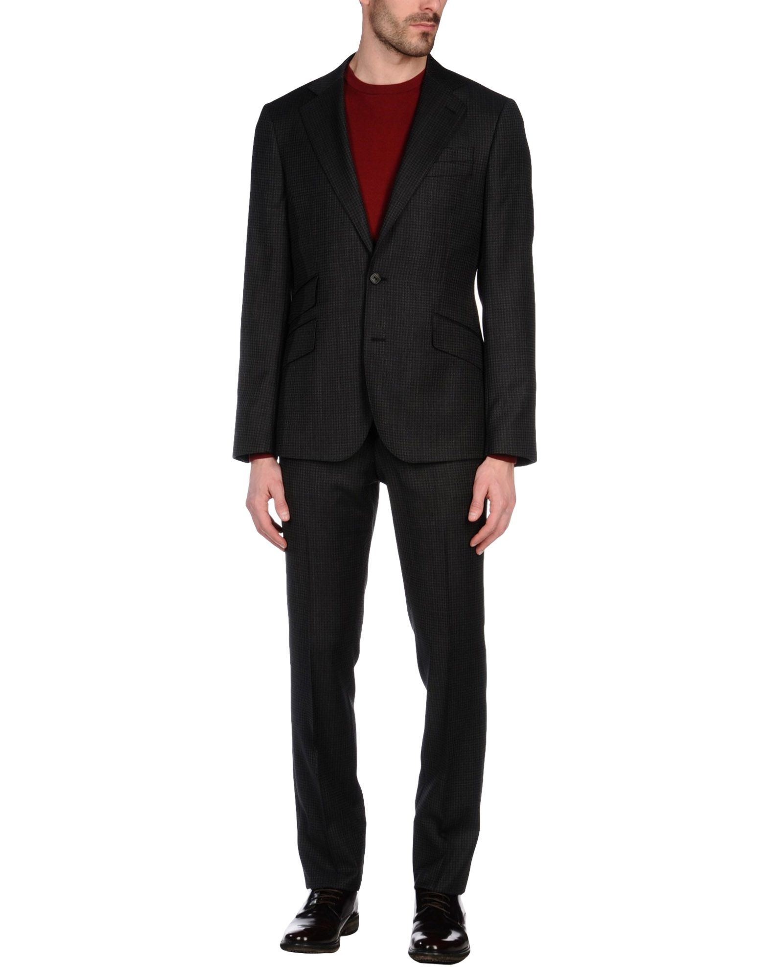 组成: 100% 羊毛 细节: 精纺羊毛, 无装饰, 西装领, 单排扣, 双色