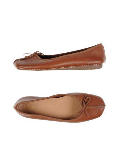 Clarks Ballet Flats In Brown | ModeSens