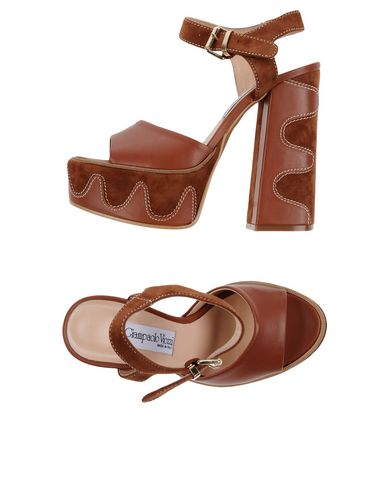 GIAMPAOLO VIOZZI Sandals in Brown