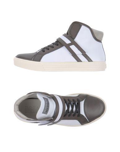HOGAN REBEL Sneakers in Lead