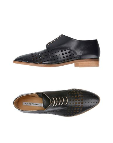 ALBERTO FERMANI Laced Shoes in Black