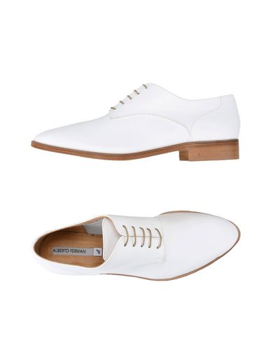 ALBERTO FERMANI Laced Shoes in White