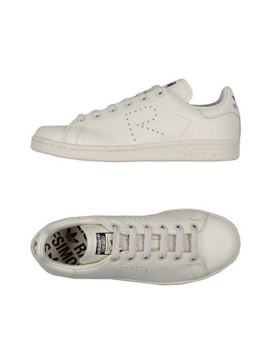 Rs Stan Smith Leather Sneakers in White
