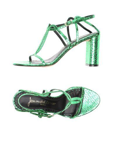 JEAN-MICHEL CAZABAT Sandals in Green