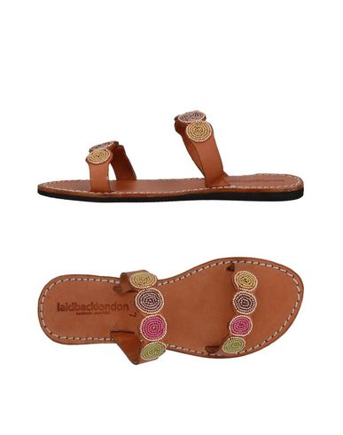 LAIDBACK LONDON Sandals in Brown
