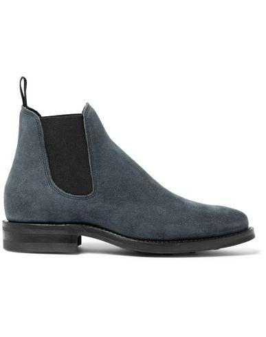 VIBERG Boots in Slate Blue