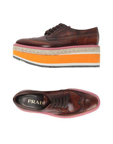 PRADA - 系带鞋