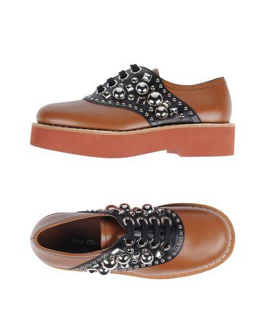 MIU MIU - 系带鞋