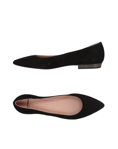 JIL SANDER NAVY - 芭蕾平底鞋