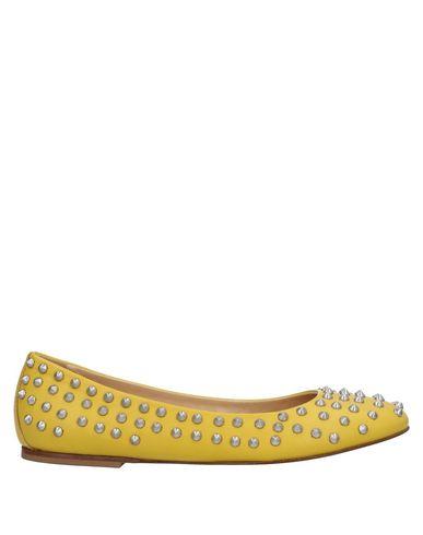 GIACOMORELLI Ballet Flats in Yellow