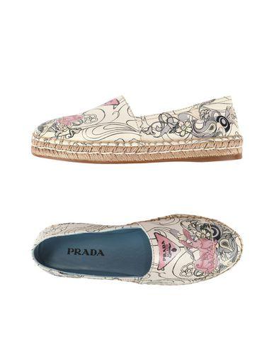 PRADA - 底部编织休闲鞋