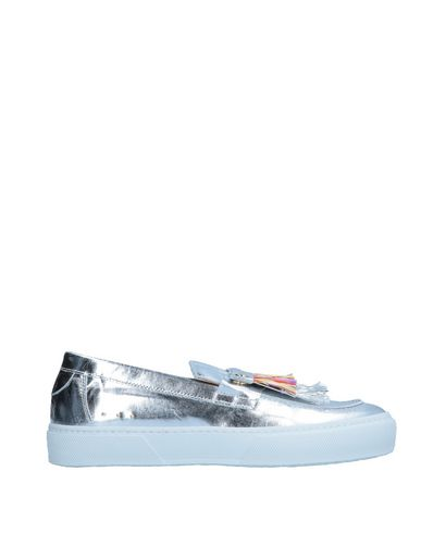 L'F SHOES Loafers in Silver