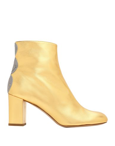 CAMILLA ELPHICK Ankle Boot in Gold