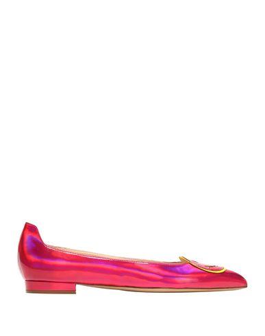 CAMILLA ELPHICK Ballet Flats in Fuchsia