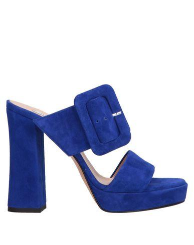 GIAMPAOLO VIOZZI Sandals in Bright Blue