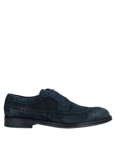 CORVARI Laced Shoes in Dark Blue