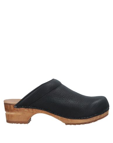 SANITA Mules in Black