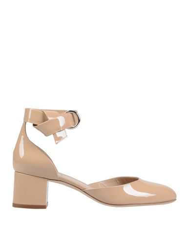 ALEXANDER WHITE Pumps in Beige