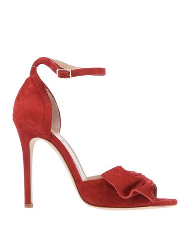 ALEXANDER WHITE Sandals in Red