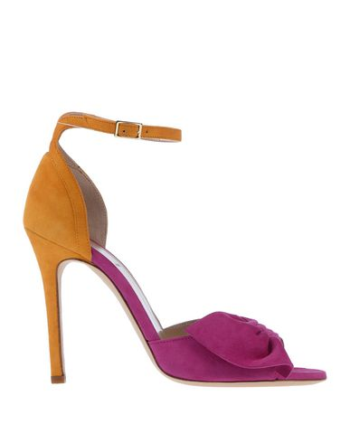 ALEXANDER WHITE Sandals in Light Purple