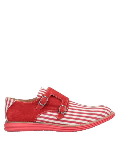 GOLD BROTHERS Loafers in Red