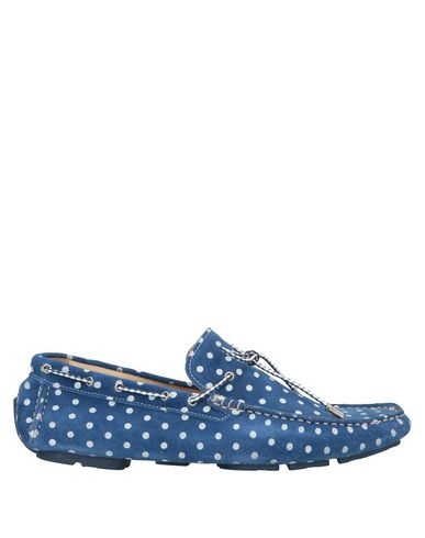GOLD BROTHERS Loafers in Azure