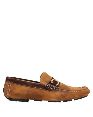 GOLD BROTHERS Loafers in Camel