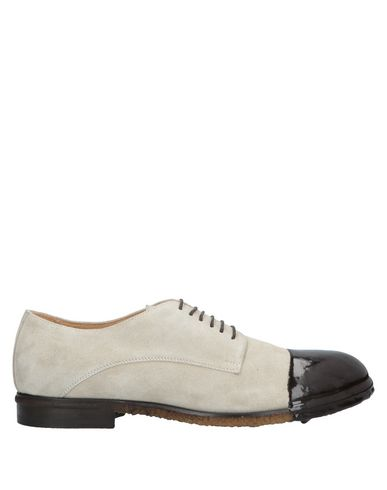 ATTIMONELLI'S Laced Shoes in Light Grey