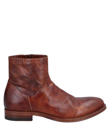SHOTO Ankle Boots in Brick Red