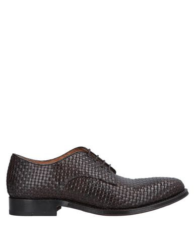 SHOTO Lace-Up Shoes in Dark Brown
