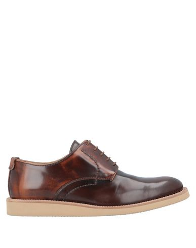 GOLD BROTHERS Laced Shoes in Cocoa