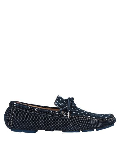 GOLD BROTHERS Loafers in Dark Blue