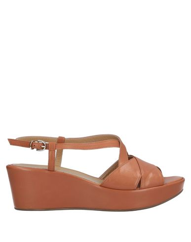 A. TESTONI Sandals in Tan