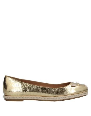 Marc By Marc Jacobs Ballet Flats In Gold