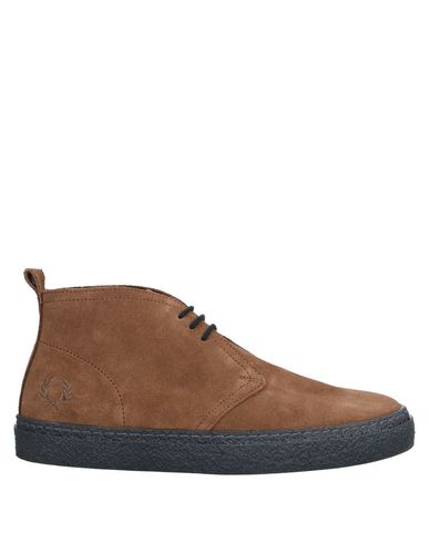 Fred Perry Ankle Boot In Brown