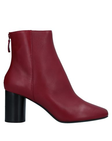 Sandro Ankle Boot In Red