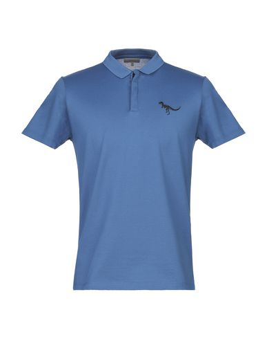 Lanvin Polo Shirt In Blue