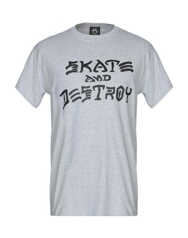 THRASHER T-Shirt in Light Grey