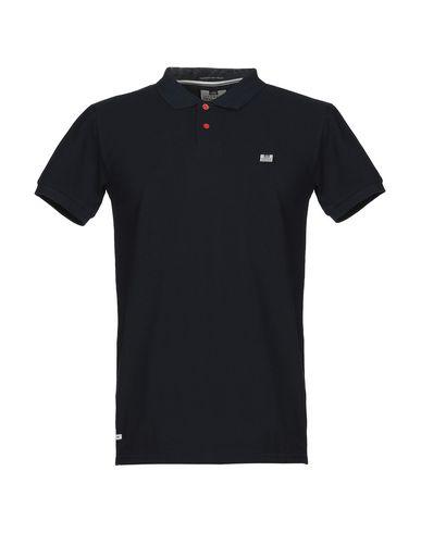 WEEKEND OFFENDER Polo Shirt in Dark Blue