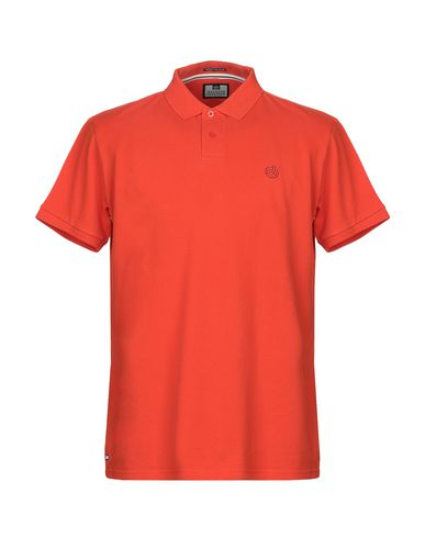 WEEKEND OFFENDER Polo Shirt in Orange