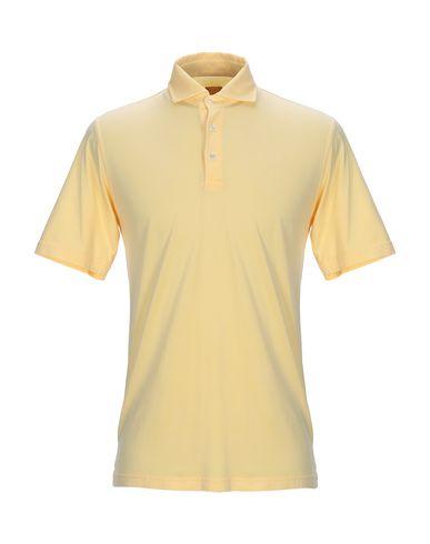 FEDELI Polo Shirt in Yellow