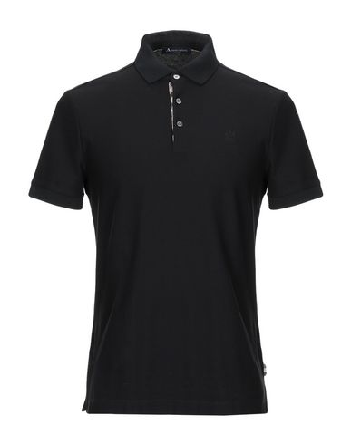 AQUASCUTUM Polo Shirt in Black