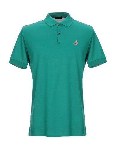 Lanvin Polo Shirt In Green