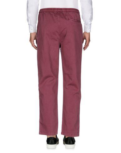 Stussy Garment Dyed Beach Pant, Burgundy