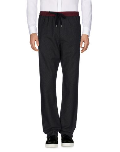 ANDREA POMPILIO Casual Pants in Steel Grey