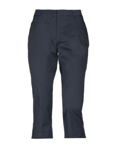 AQUASCUTUM Cropped Pants & Culottes in Dark Blue