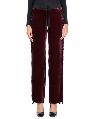 VATANIKA Casual Pants in Maroon