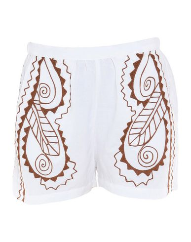 VALERIE KHALFON Shorts & Bermuda in White