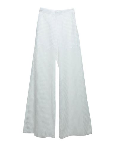 ALCOOLIQUE Casual Pants in White